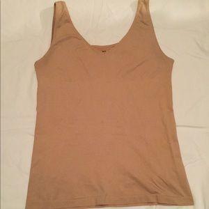 Jockey Life Shaper Slimming Tank Shirt XXL Nude